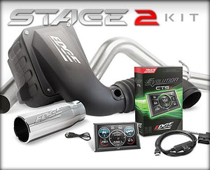 Edge Products 39126-D Stage 2 CTS2 Performance Package (Dry Filter)