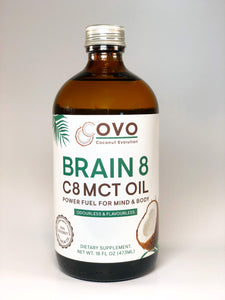 Brain 8 MCT Oil - Power Fuel for Mind & Body