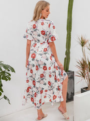 ROAD OF FLOWERS DRESS