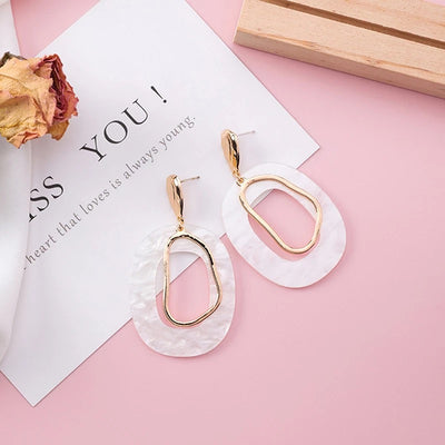 Geometric Fashion Earrings