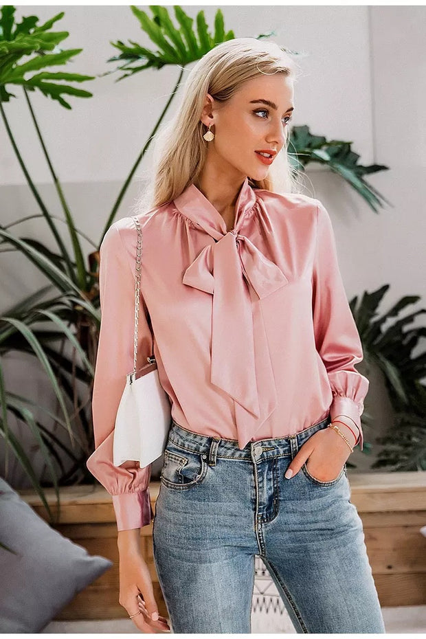 Jolies Casual Pink Blouse