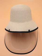 Hat With Detachable Face Shield