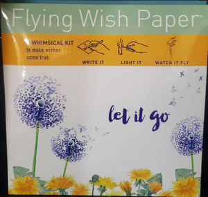 Flying Wish Paper ~ Small