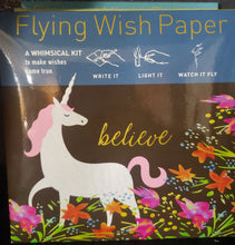 Load image into Gallery viewer, Flying Wish Paper ~ Small