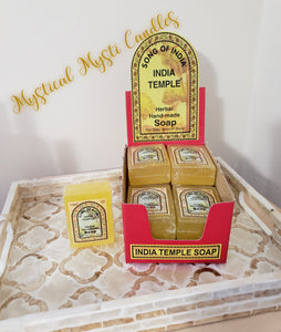 Song of India ~ Indian Temple Herbal Soap