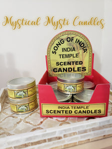 Song of India ~ Indian Temple Candle