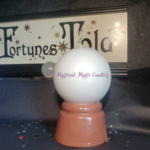 Crystal Ball Candle - Two Toned