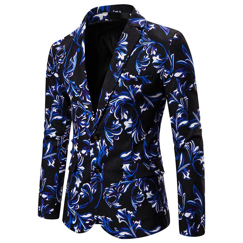 Men's Printed Blazer DL-1232