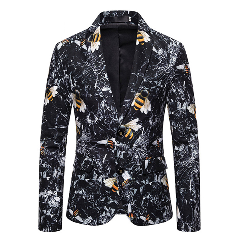 Men's Printed Blazer DL-1235