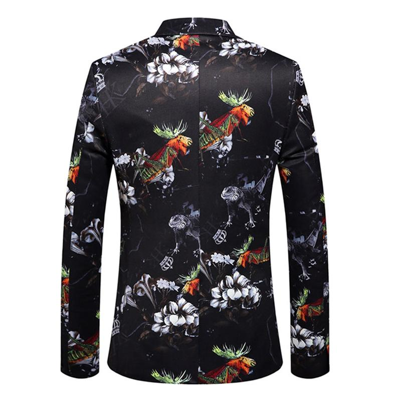 Men's Printed Blazer DL-1228