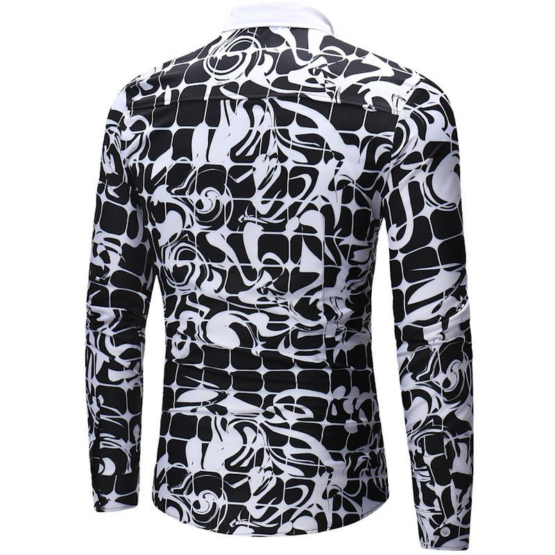 Men's Printed Shirt LK2064