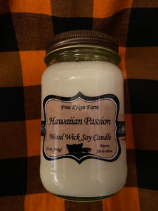 Free Reign Hawaiian Passion Scented Candle