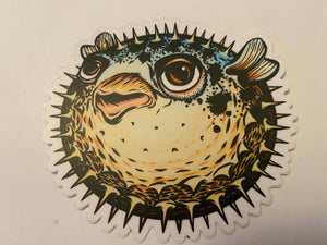 Blowfish Sticker