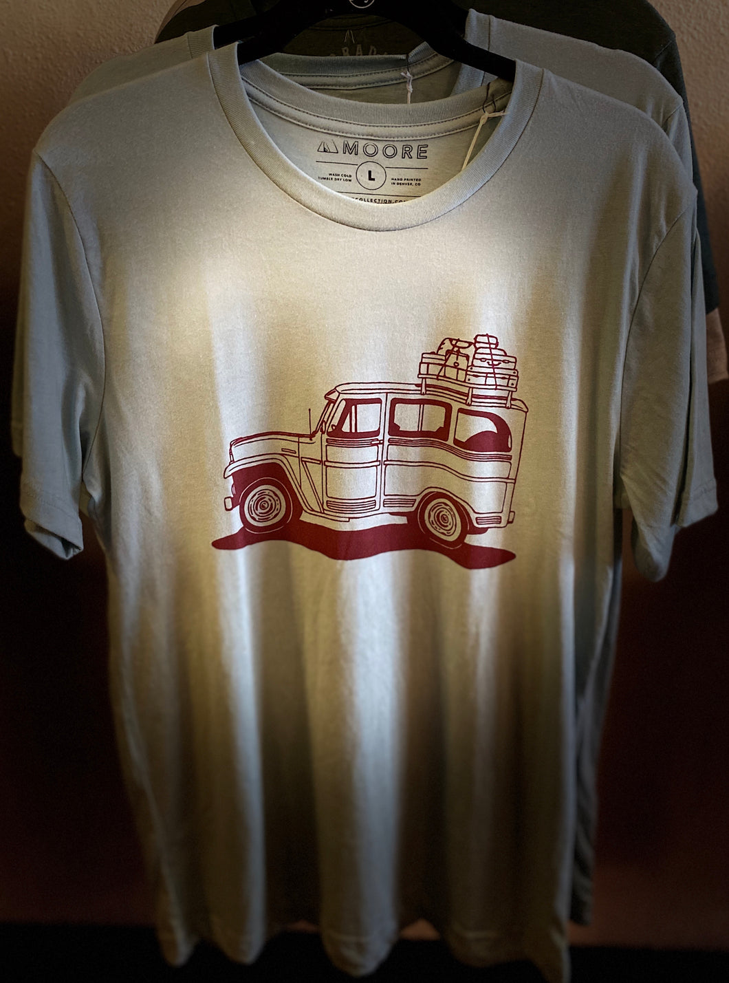 Moore Traveling Jeep T-Shirt