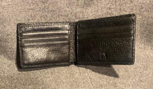 PX Black Leather wallet