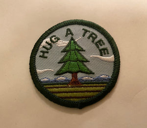 COLORADICAL HUG A TREE IRON ON PATCH
