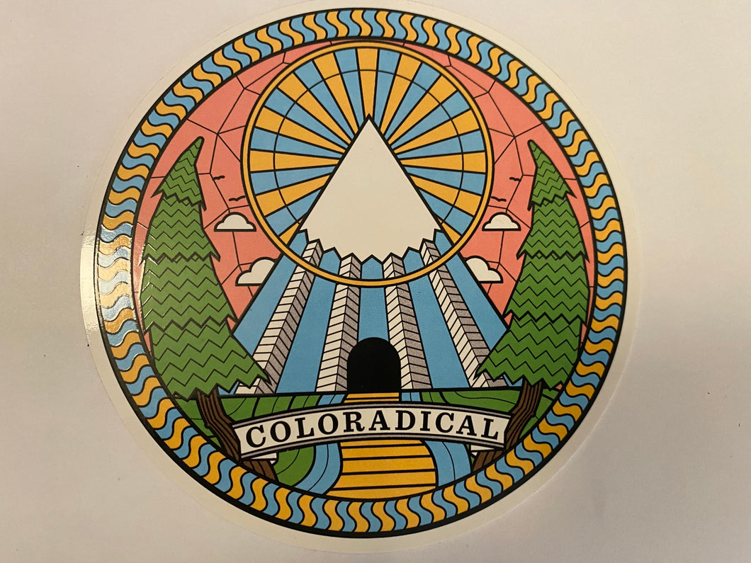 COLORADICAL STICKER