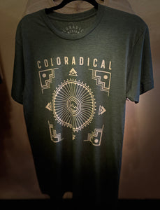 COLORADICAL Green Logo T-Shirt