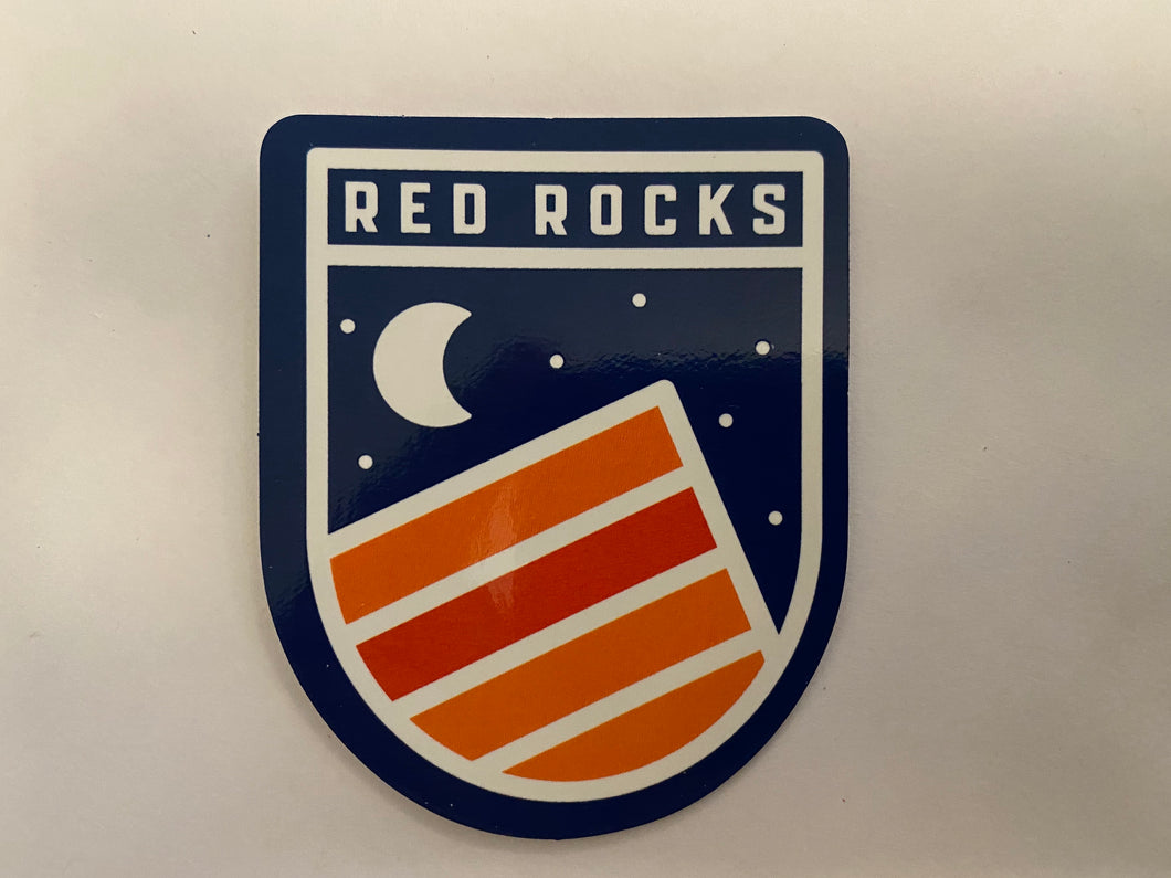 COLORADICAL RED ROCKS MOON STICKER