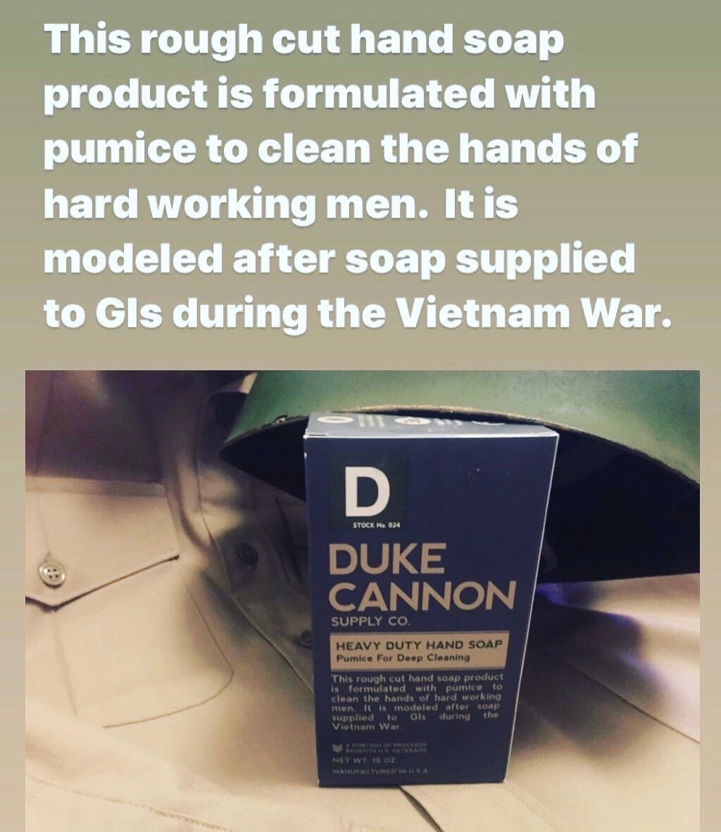 Duke Cannon Heavy Duty Soap