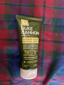 Duke Cannon Shaving Cream 6 oz