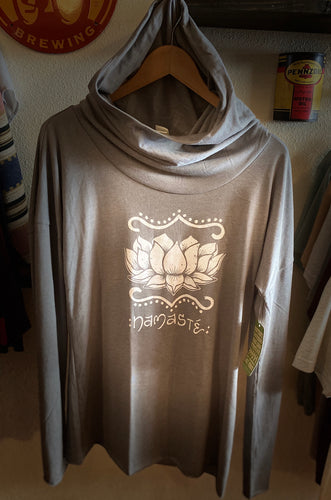 Soul Flower Long Sleeve Pull Over Hoodie