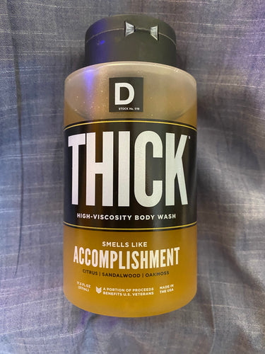 Duke Cannon Thick - Accomplishment Body Wash