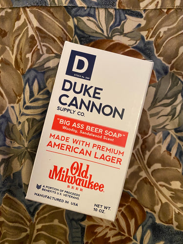 Duke Cannon Old Milwaukee Beer Soap