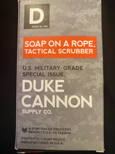 Duke Cannon Soap On A Rope Tactical Scrubber