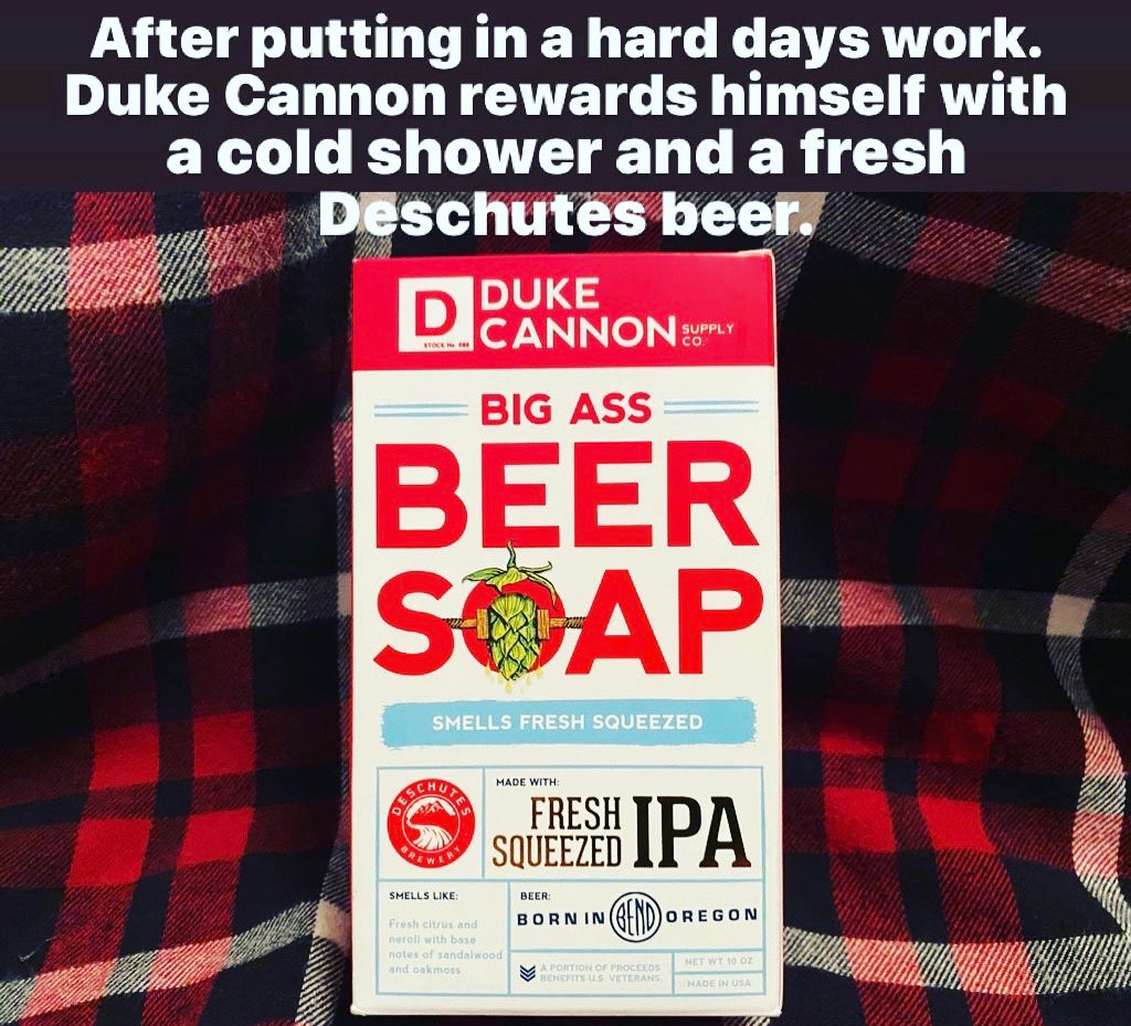 Duke Cannon IPA Beer Soap