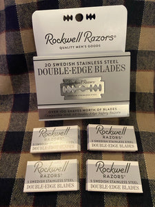 Rockwell Replacement Double - Edge Blades