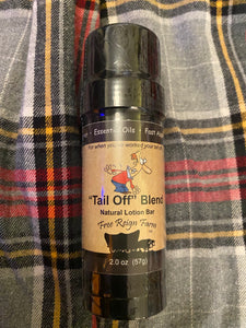 Free Reign Farms Tail Off Blend Lotion Bar