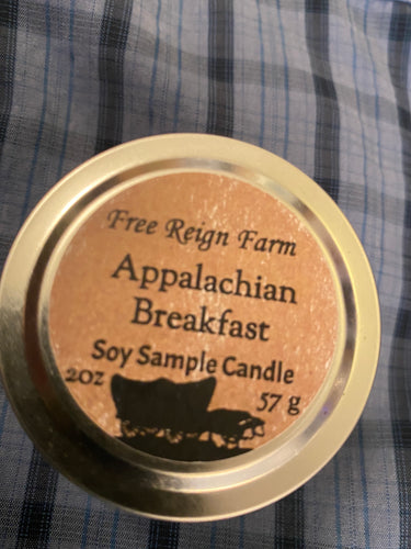 Free Reign Farms Appalachian Breakfast Scented Candle