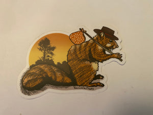 Traveling Squirrel
