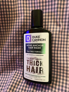 Duke Cannon News Anchor Hair Wash