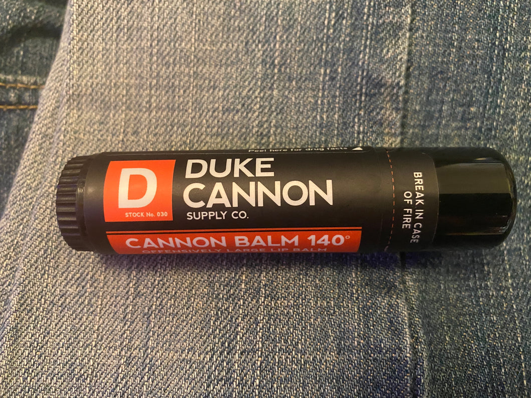 Duke Cannon Offensively Large Lip Balm