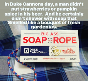Duke Cannon Old Milwaukee Soap On A Rope