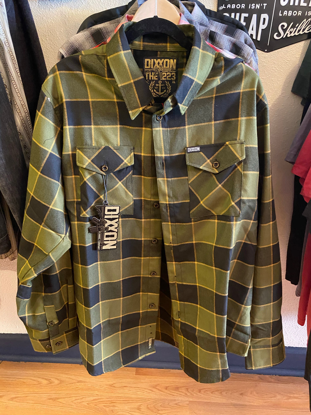 Dixxon The .223 Flannel Shirt