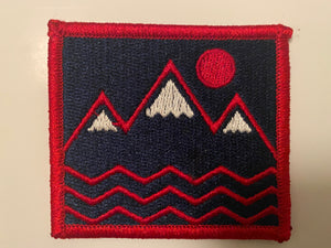 COLORADICAL MOUNTAINS IRON ON PATCH