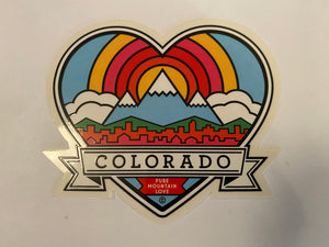 COLORADICAL COLORADO STICKER