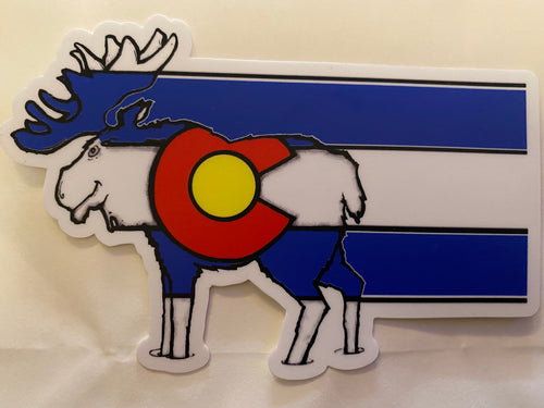 Colorado Moose Flag