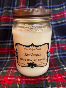 Free Reign Farms Sea Breeze Scented Candle