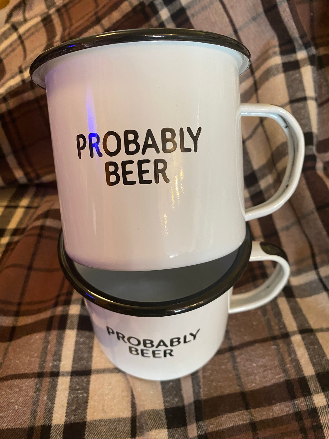 Probably Beer Camp Mug Swag Brewery