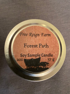 Free Reign Farms Forest Path Scented Candle