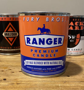 Fury Bros Soy Wax Candle Ranger