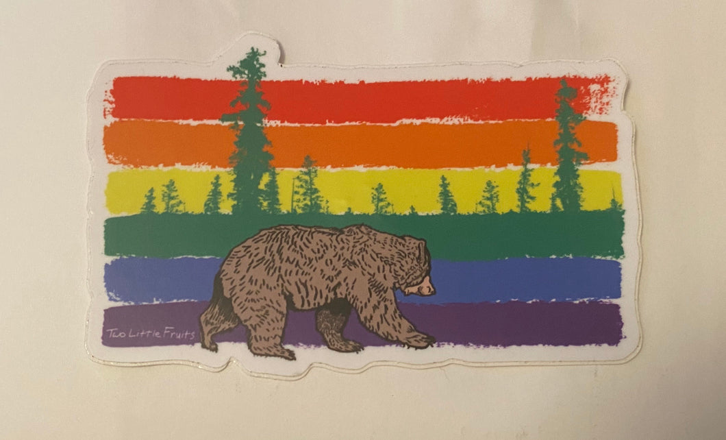 Pride Bear Sticker