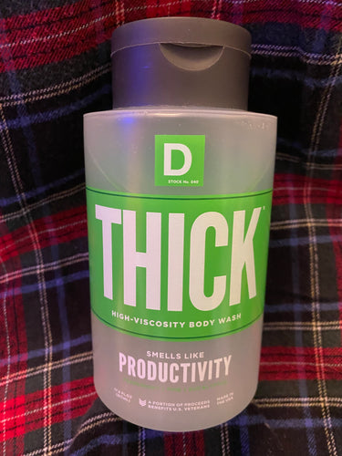 Duke Cannon Thick-Viscosity Body Wash