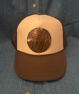 Local Artist Copper Medallion Hat