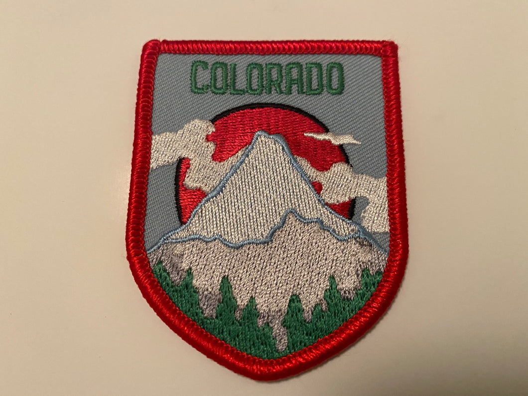 COLORADICAL COLORADO IRON ON PATCH