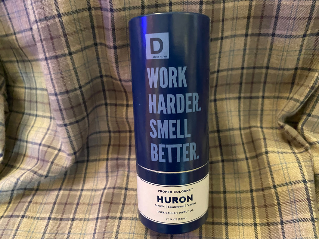 Duke Cannon Huron Cologne
